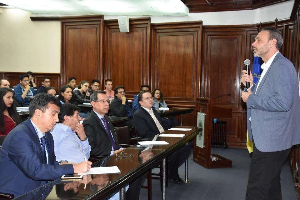 Encuentro de la UPV y la Universidad de Bolivia
